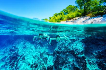 Sea snorkeling Ibiza