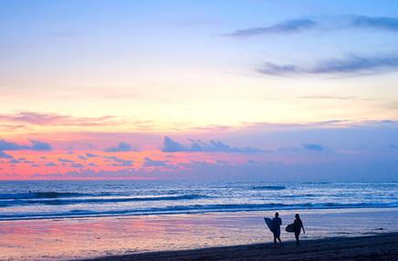 Surfing Ibiza