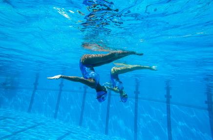 Synchro swimming Ibiza
